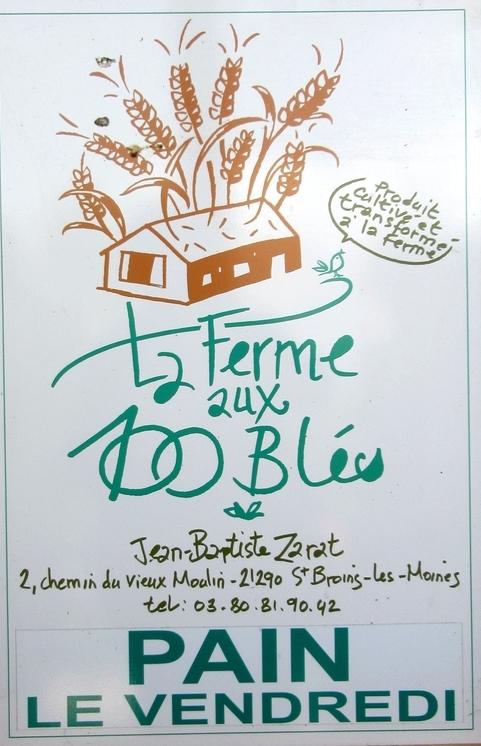 """Jean-Baptiste Zarat, de saint Broing les Moines, a ouvert les portes de sa """"Ferme des 100 blés"""" aux visiteurs"""