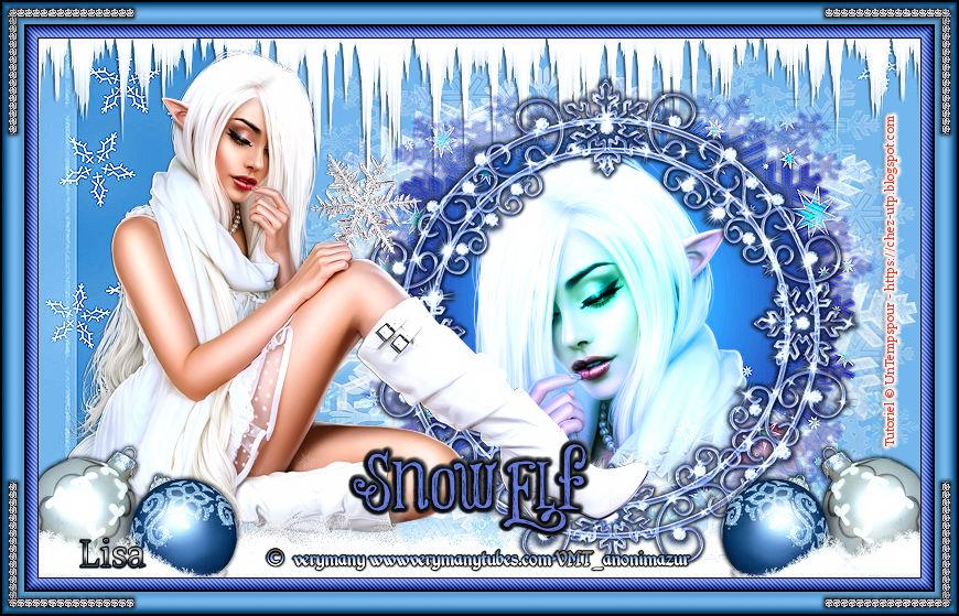 Ma réalisation du tuto Snow Elf