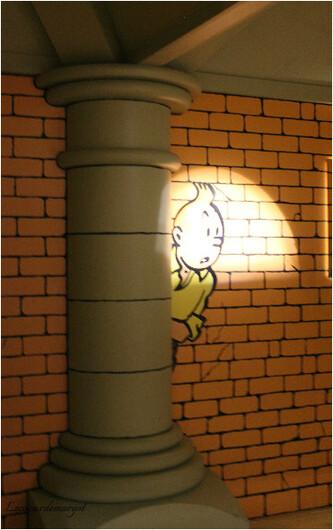 Expo Tintin à Cheverny