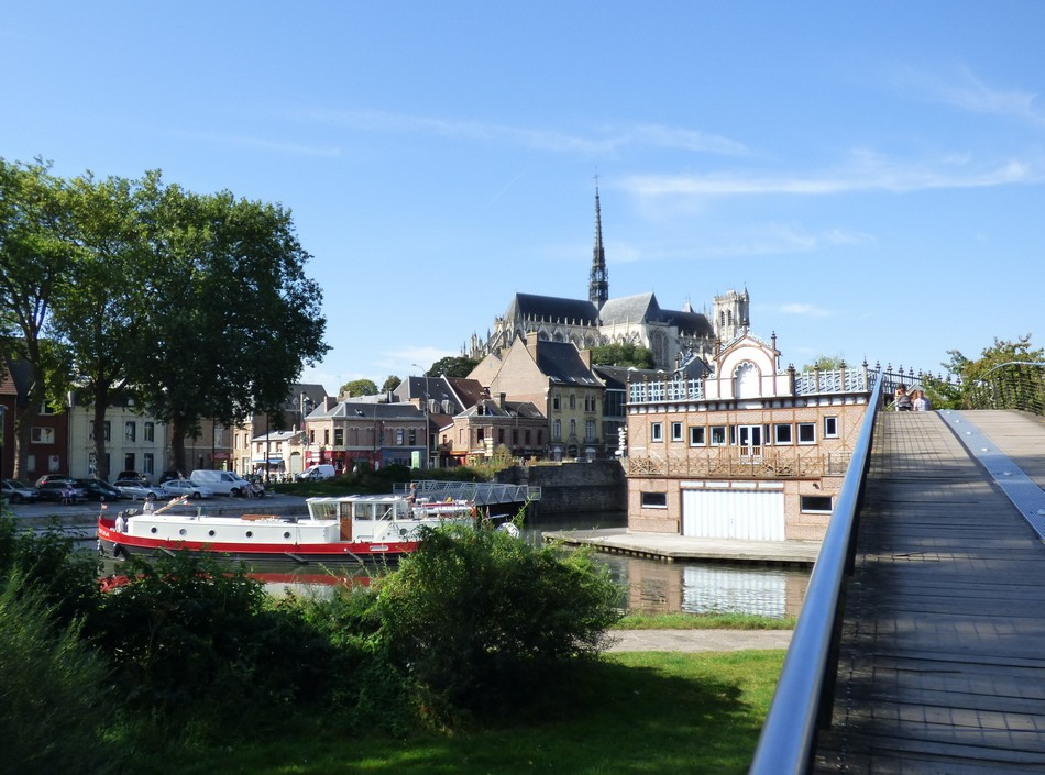 Amiens en surexposition naturelle