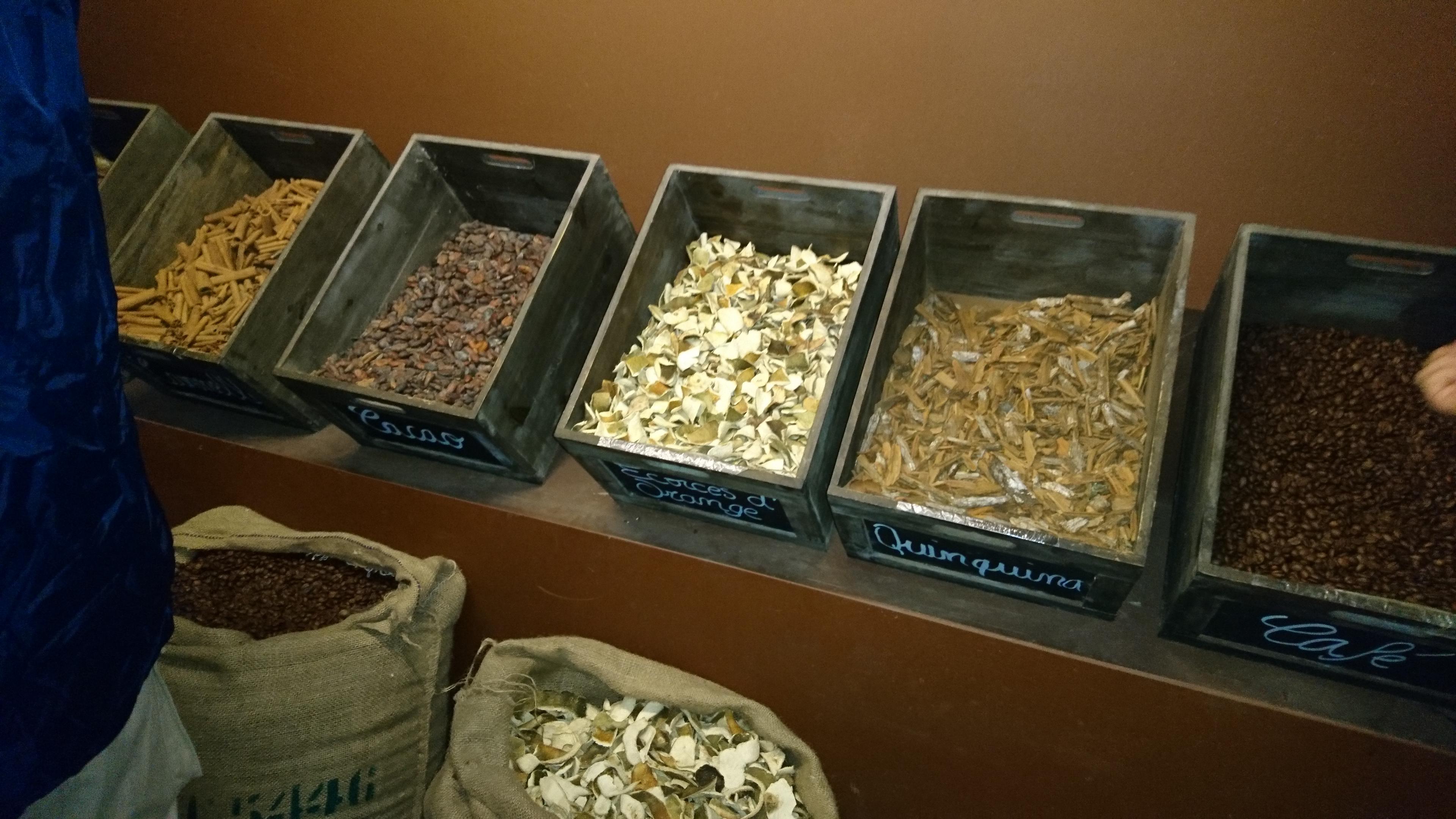 les épices qui servent à parfumer
