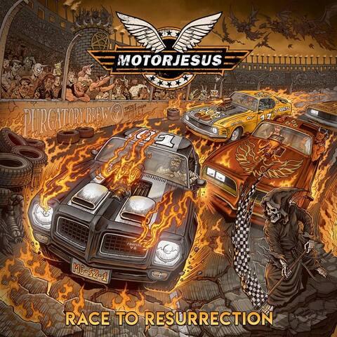 MOTORJESUS - Un nouvel extrait de l'album Race To Resurrection dévoilé