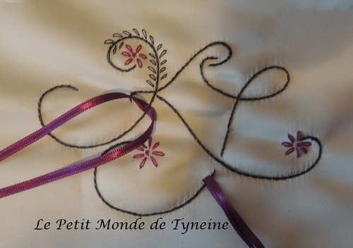 Coussin de Mariage - Made by Tyneine ^^