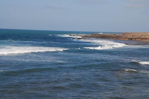 La côte nord Mohamedia
