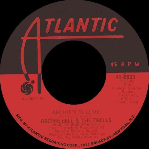 "Archie Bell & The Drells : CD ""The Atlantic & Glades Singles 1970 - 1975 "" SB Records DP 115 [ FR ]"