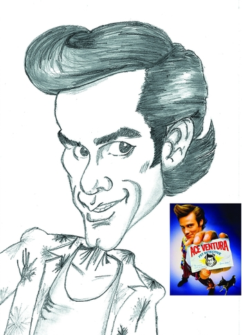 Caricature Jim carrey 21mars06