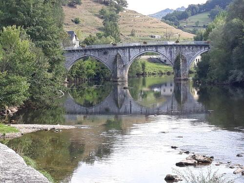 Le Pont D'Olt sur le Lot