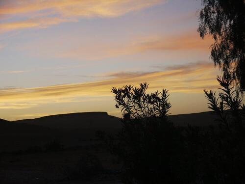 Et le coucher du soleil de l'autre