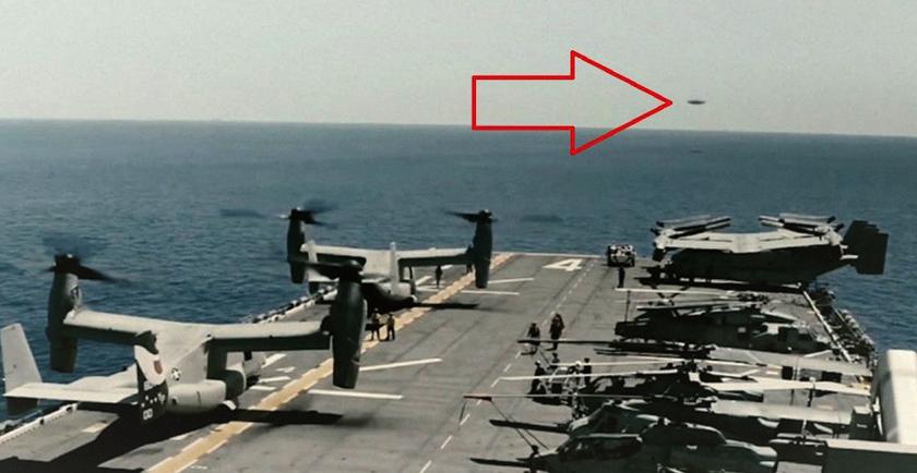 Un OVNI se dirigeait vers le groupe de combat... la Marine US brise le silence