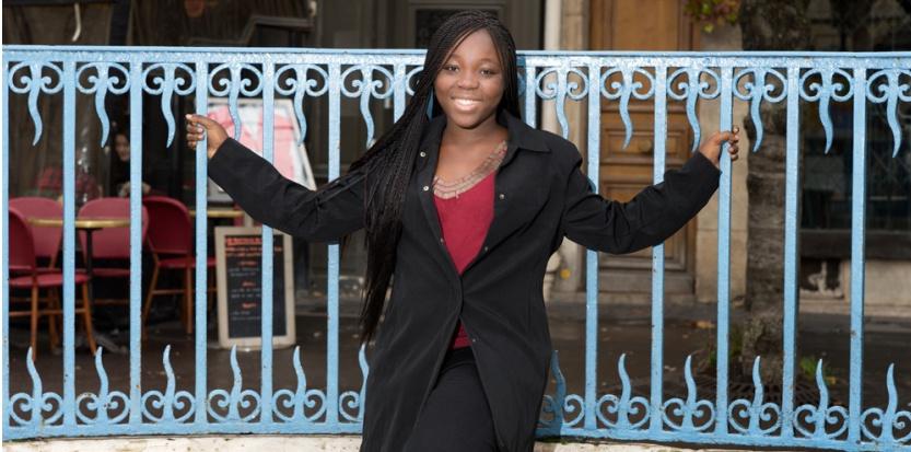 Rachel Mwanza. (Didier Pazery)