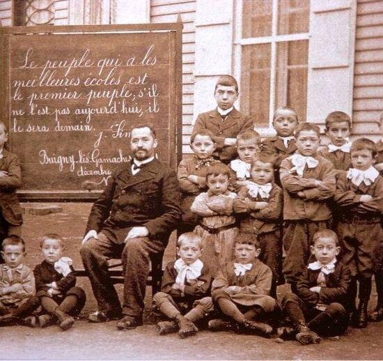 Étudiants de la Faculté de Droit de Montpellier 1891-1892