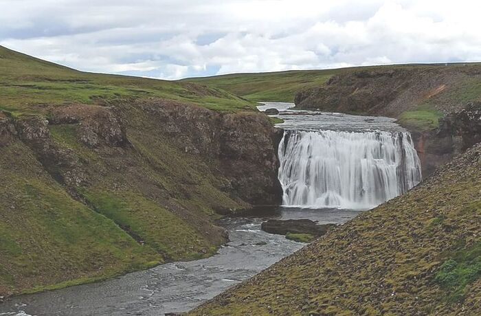 En Islande...