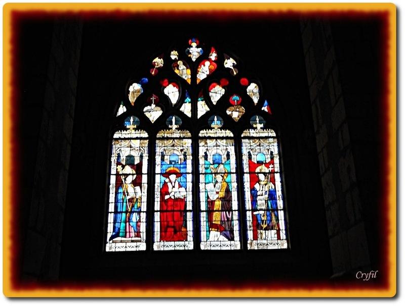 De jolis vitraux