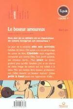 Chronique du roman jeunesse {Le boxeur amoureux}
