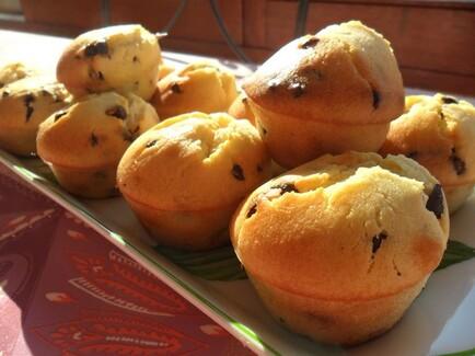 *** Muffins au mascarpone et pépites de chocolat ***
