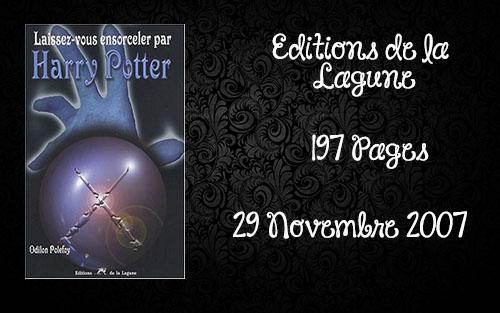 Laissez-vous ensorceler par Harry Potter , Odilon Polefoy