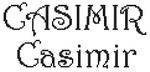 Dictons de la St Casimir + grille prénom  !