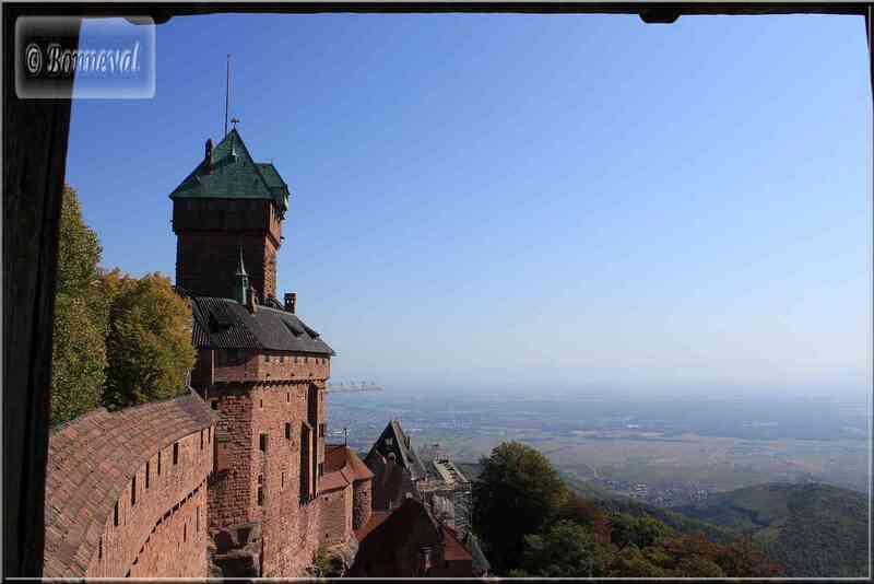 Alsace Haut-Koenigsbourg le Donjon ou Bergfried Suivez le Guide