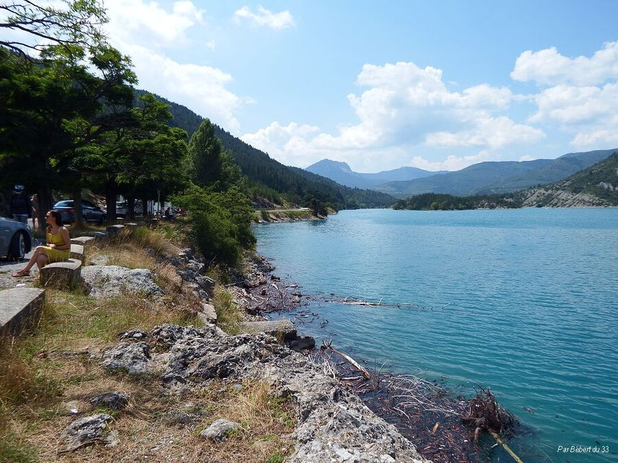 Le lac de Castillon dept 04
