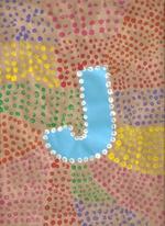 La lettre aborigène, de ma fille CM1