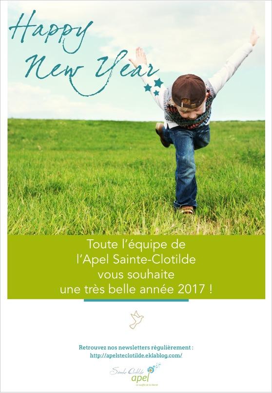⚛⚛ L'équipe de l'APEL vous souhaite une très belle année ! ⚛⚛