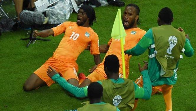 Côte d'Ivoire 2-1 Japon