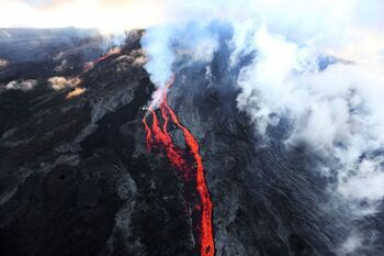 Eruption imminente du piton de la Fournaise à La Réunion