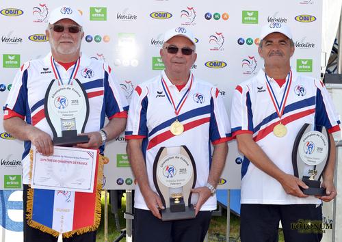 Championnat de France 2016 Triplettes Vétérans