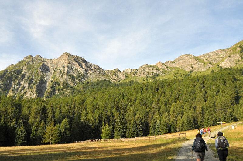 Randonnée en Italie : le mont Zerbion (1)