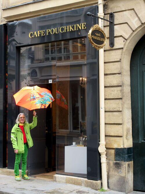 Parapluies littéraires...