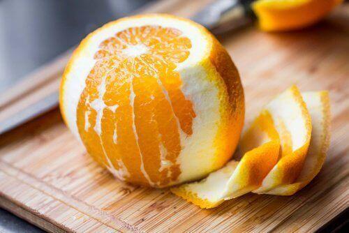 combattre la constipation avec l'orange