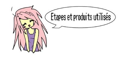 girl pink hair etapes produits utlisés gengar