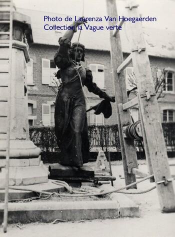 Statue de Marie Fouré à Péronne