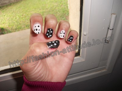 Nail Art Black & White