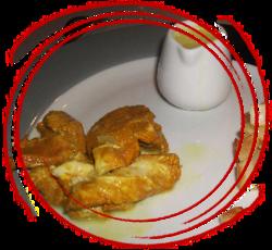 Aiguillettes de poulet au safran