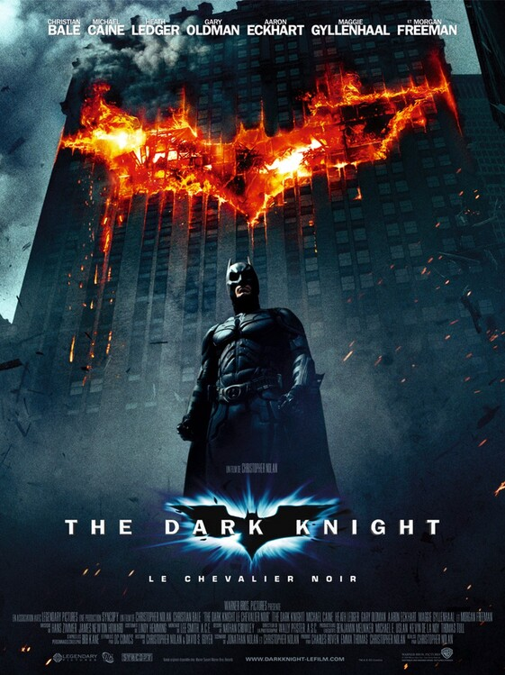 THE DARK KNIGHT:LE CHEVALIER NOIR - BOX OFFICE BATMAN 2008