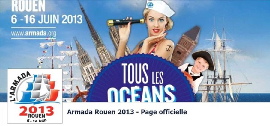 En route pour  Rouen voir l'Armada de la Liberté !