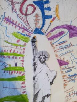 La statue de la Liberté : suite