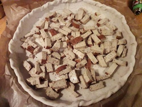 Tarte crémeuse Potimarron/Tofu fumé