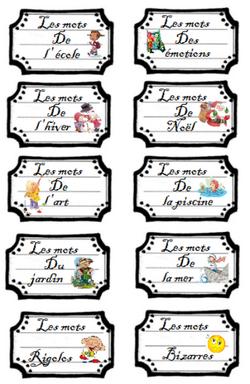 livres déclencheurs en vocabulaire