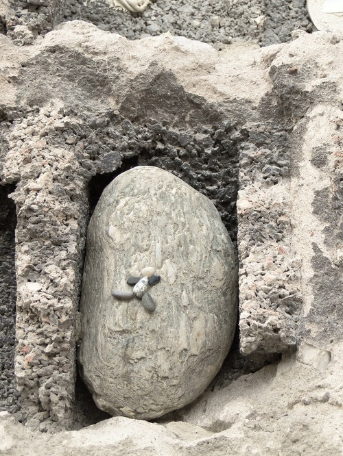 """Une visite commémorative au """"Mur des Offrandes"""""""