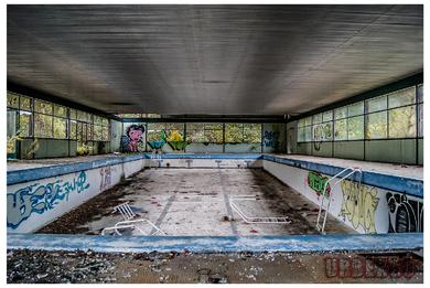 La piscine de la station