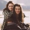 Bella et Jacob sur la moto...