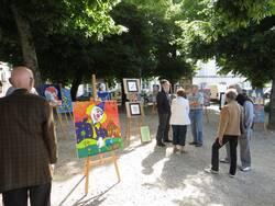Exposition à Luçon sur le thème du cirque samedi 15 juin 2013