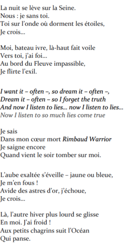 #10. Rimbaud Warrior