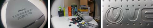 Grâce au kit Olixar, mon smartphone porte des lentilles !