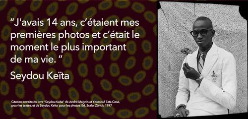 Samedi 23 avril 2016: Sortie culturelle au Grand Palais pour découvrir l'oeuvre de Seydou Keita