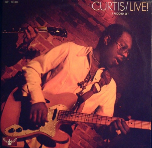 "1971 : Album "" Curtis Live ! "" Curtom Records CRS 8008 [ US ]"