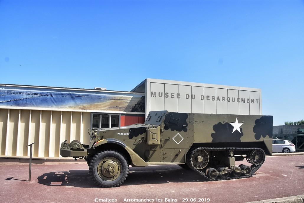 Plage du débarquement - Arromanches-les-Bains   -   Calvados