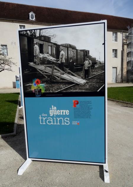 La Grande Guerre évoquée dans la cour du Musée du Pays Châtillonnais-Trésor de Vix